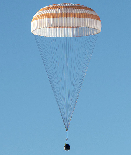 Expedition 39 Soyuz TMA-11M Landing