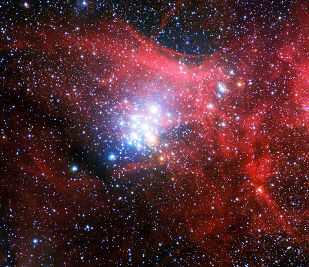 The star cluster NGC 3293