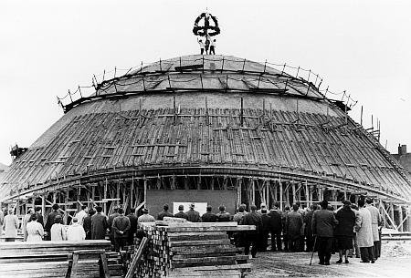 Planetarium - Richtfest Nr. 2 - 12.10.1962