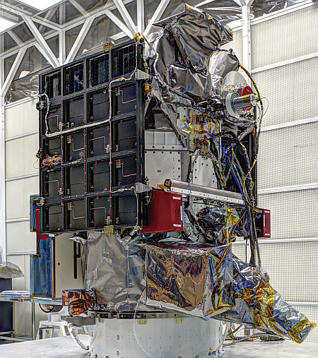DSCOVR Satellite Media Day at NASA Goddard