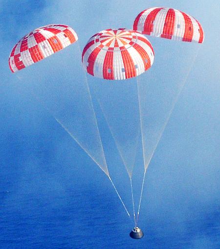 U.S. Navy and NASA Team up for Exploration Flight Test - 1