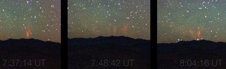 Midsummer Night Brings Sprites — Rare phenomenon caught on cam