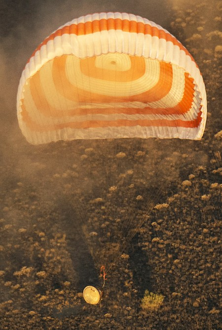 Expedition 48 Soyuz TMA-20M Landing